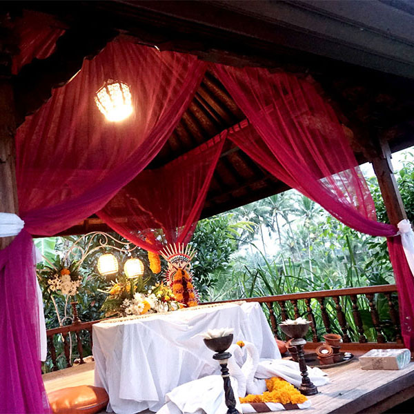 Candlelight Dinner at OM Ham Retreat Ubud